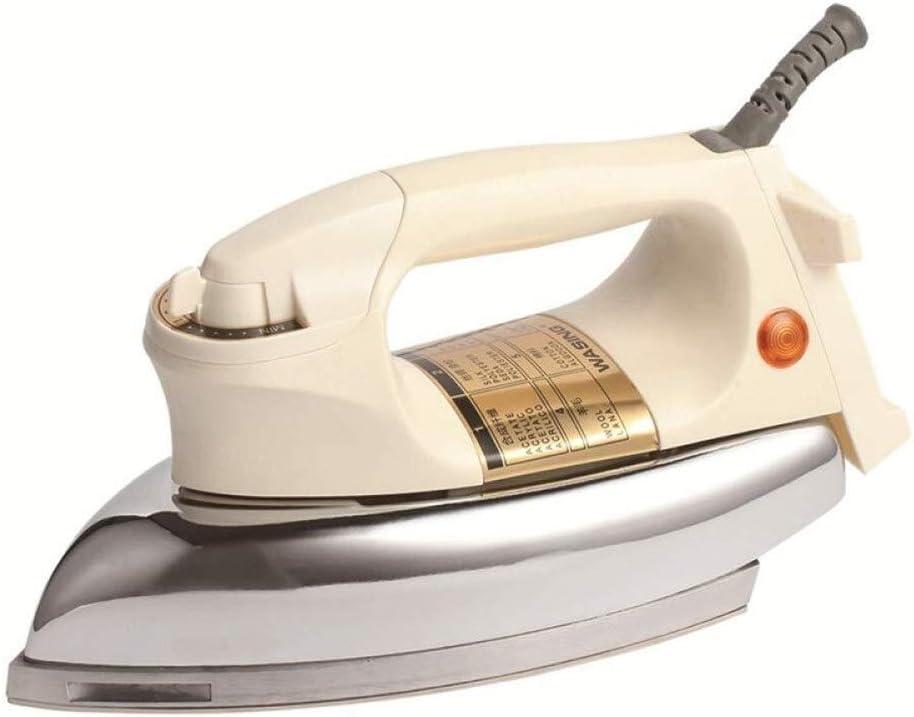 BJYX Control de los vapores de Hierro 1000W potentes Irons Tela portátil de Temperatura for el Viaje y Home-6 de Transmisión Variable eléctrico Handheld (Color : Steelplate, Size : 26 * 12 * 13cm)