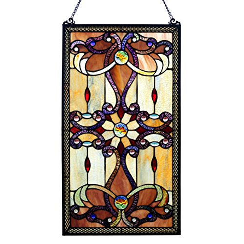 Brandi Collection Stained Glass Panel:  Decorative Window