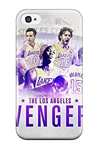 High Quality Los Angeles Lakers Nba Basketball (80) Case For Iphone 4/4s / Perfect Case