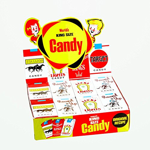 Old Halloween Candy (World's King Size Candy