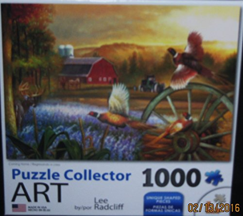 Coming Home 1000pc Collector Puzzle By: Lee Radcliff
