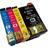 IC4CL76/76XXL 4色セット IC76 エプソン EPSON 互換インク PX-M5040F PX-M5041F PX-S5040 対応 ICチップ付 1年保証付 プリンター保証付