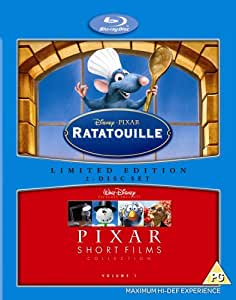 Ratatouille / Pixar Shorts [Blu-ray] {REGION B} (2 DISC) [IMPORT]