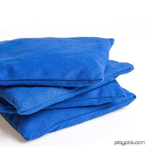 Premium Weather Resistant Duckcloth Cornhole Bags Set Of