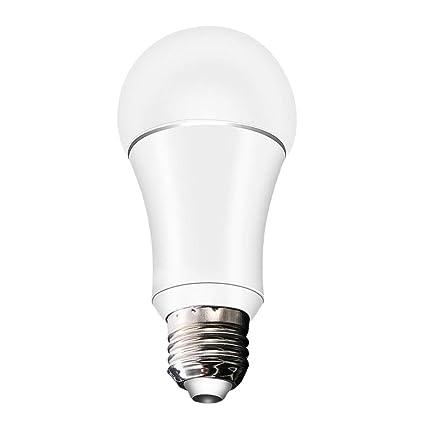 Bombilla LED inteligente WiFi inalámbrica E27 compatible con Alexa Google home 7W EQ0104101 productos de cuidado