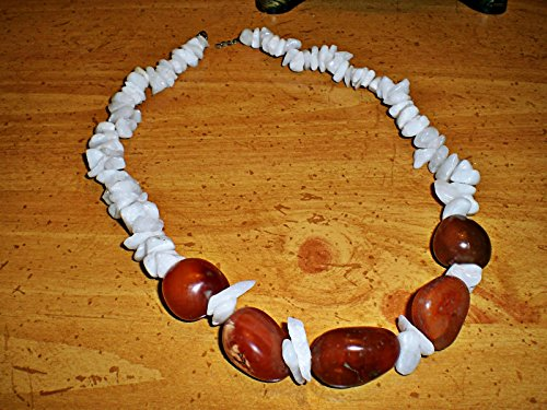 Carnelian White Necklace - 5