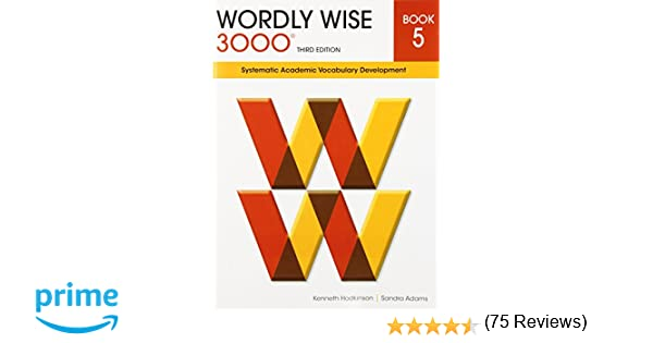 Amazon.com: Wordly Wise 3000 Book 5: Systematic Academic ...