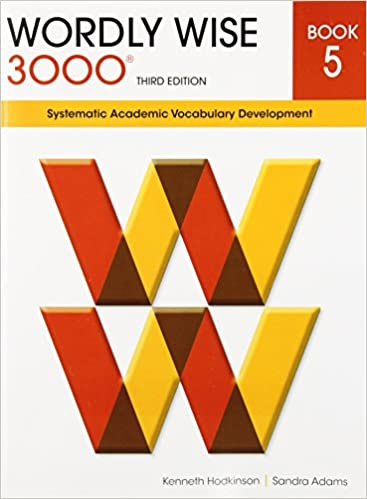 Amazon wordly wise 3000 book 5 systematic academic vocabulary amazon wordly wise 3000 book 5 systematic academic vocabulary development 9780838876053 kenneth hodkinson sandra adams books fandeluxe Image collections