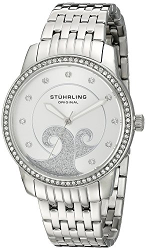 Stuhrling Original Women's 569.01 Coronet Analog Display Quartz Silver Watch
