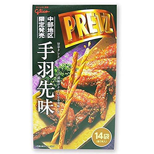 [중부지방 한정] 글리코 자이언트 PRETZ 프리츠 닭날개맛 ( 14봉지) 1개=1봉지