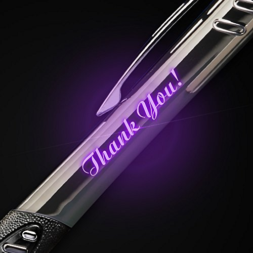 10 Custom Laser-Engraved Metal Stylus & Ballpoint Pens. Choose from 5 Stylus Colors - Push the Stylus to Illuminate Your Message in Color! Free Personalization. by Imprints Online (Image #2)