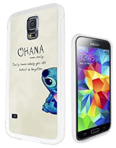 Ohana Family Meaning Fun Cool Design Samsung GALAXY S6 i9700 Fashion Trend SILICONE GEL RUBBER CASE COVER Full Sides and top Case