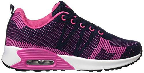 BEPPI Sport Shoe, Zapatillas de Deporte Exterior Para Mujer Azul (Marinho)