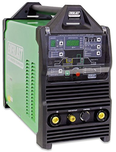 2019 Everlast PowerTIG 325EXT 320amp DIGITAL AC DC TIG STICK Pulse welder 220 Volt Inverter-Based AC DC