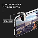Mobile Game Controller, Metallic Aim and Capacitive