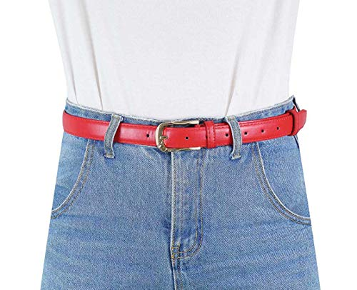 Buy red patent leather belt plus size