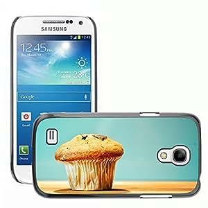 Print Motif Coque de protection Case Cover // M00237006 Snack Food Treat mollete de Madera // Samsung Galaxy S4 Mini i9190