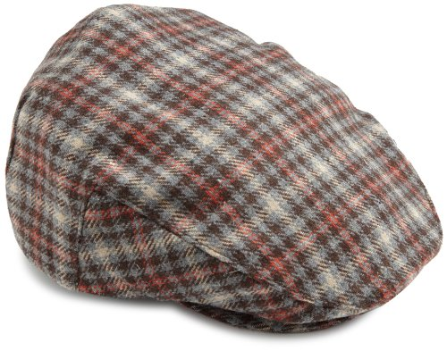 Casquettes homme Brixton Hooligan Grey Brown Plaid