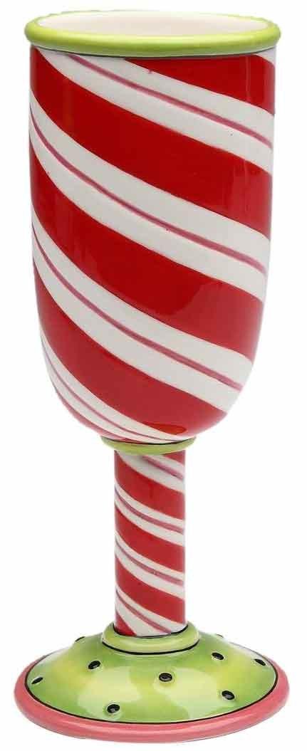 Appletree Design Winter Wonderland 2-Piece Goblet 7-Inch