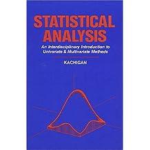 Statistical Analysis: An Interdisciplinary Introduction to Univariate & Multivariate Methods