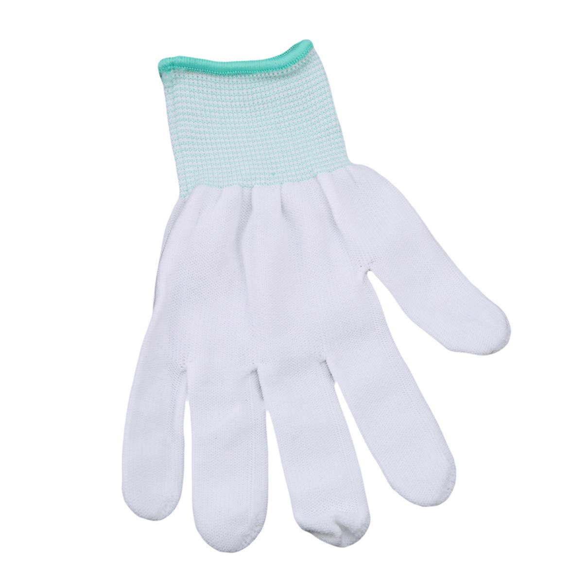 Essencedelight Cleaning Gloves Nylon Working Gloves Stretchy Full Finger Anti Static Non-Slip Breathable Gloves for Car Washing Household Cleaning Keeper