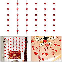 Heart Garland, Pack of 6