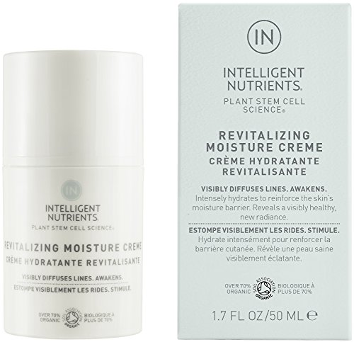 (Intelligent Nutrients Revitalizing Moisture Creme - Intense Moisturizer with Plant Stem Cells for Dry Skin, Good for All Skin Types (1.7 oz))