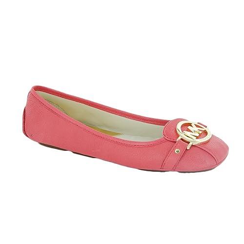 Michael Kors Halbschuhe Guantes para Mujer Fulton Moc Leather Optic White Piel Blanco, Color, Talla 40 EU: Amazon.es: Zapatos y complementos