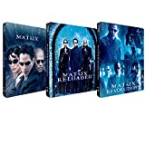 The Matrix collection UK 1,2,3 Limited Edition x3 SteelBooks Blu ray Region Free The Matrix,Matrix Revolutions,Matrix Reloaded only 2000 made