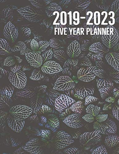 2019-2023 Five Year Planner: 60 Months Calendar with US Holidays, Schedule Organizer Planner, Monthly Calendar Planner, Agenda To Do List Planner (Volume 6)