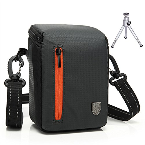First2savvv BDV2501 black luxury quality anti-shock Nylon camera case bag for FUJIFILM Fuji X-Pro2 .XE2S .X70 .X100T .X100S .XQ2 .instax mini 90 .mini 50S .mini 70 + mini tripod