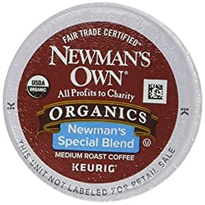 Newman's Own Special Extra Bold Blend Coffee K-Cups, Medium Roast, 100 Count (Pack of 3)