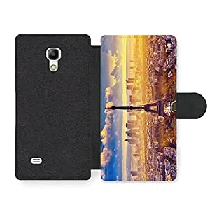 Paris Cool Photography Stylish Fashion New Design Faux Leather case for Samsung Galaxy S4 mini