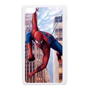 Spiderman Lates funda iPod Touch 4 caja funda del teléfono celular blanco cubierta de la caja funda EEECBCAAJ06614