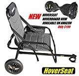 HoverSeat XL - Deluxe Sitting Attachment for Hoverboard. Hoverboard CART Attachment to Ride HOVERBOARDS Sitting.
