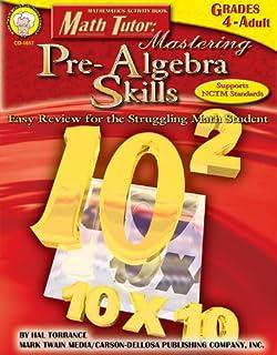 Math Tutor Easy Review for the Struggling Student Pre-Algebra Grades 6-8