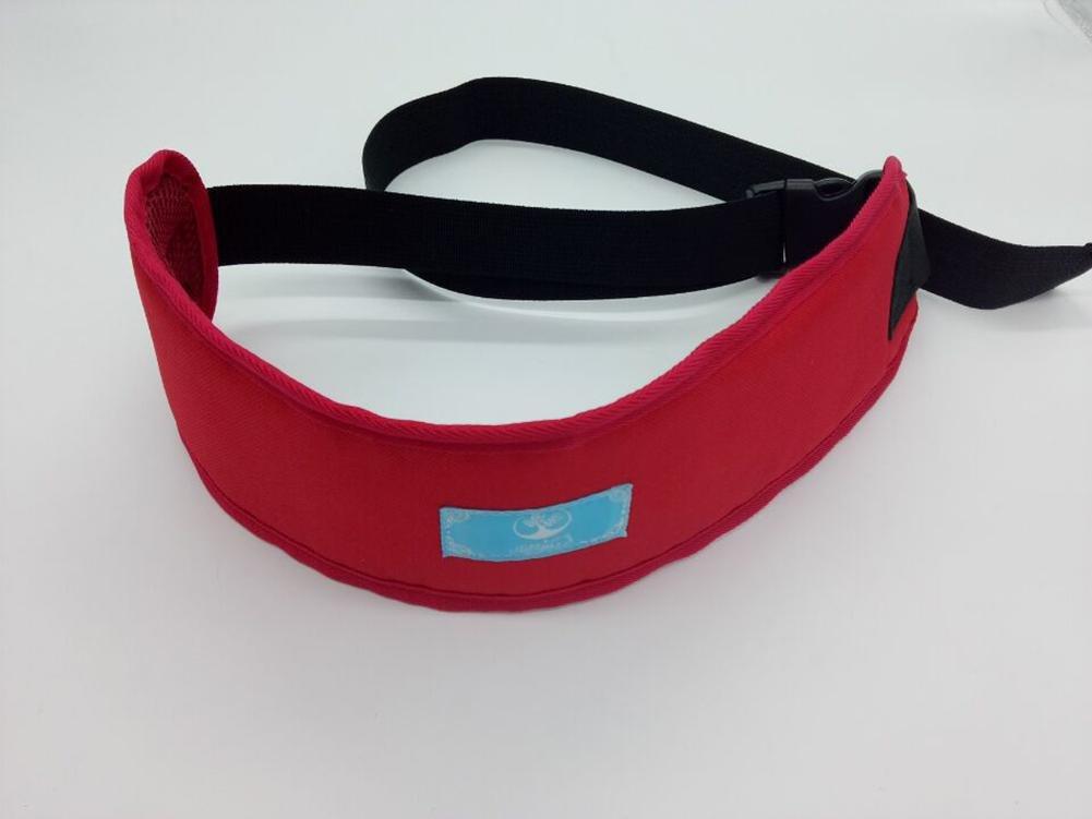 LUCKYYAN Multifunctional Adjustable Safety Belt Elderly Children Dining Chair Bed Wheelchair Restraint Belt , red