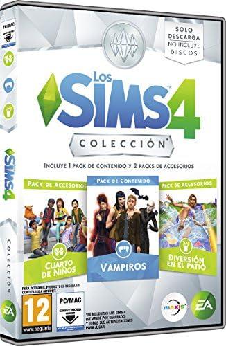 Pack: Los Sims 4 Colección, Incluye 1 Pack De Contenido Y 2 Packs ...