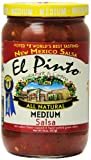 El Pinto Salsa, Red, Med, 16-Ounce (Pack of 6)
