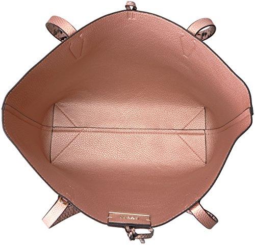 Python Bobbi Mujer Rosado bolso GUESSPN642236 reversible Rose Gold tote pitón Blush Rn8dFTgqw