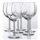 Red Wine Glass By Ikea- Svalka Series SET OF 6, 10 0Z
