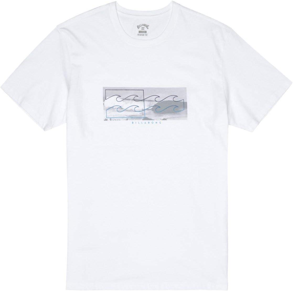 BILLABONG™ - Camiseta - Hombre - XL - Blanco: Billabong: Amazon.es: Deportes y aire libre