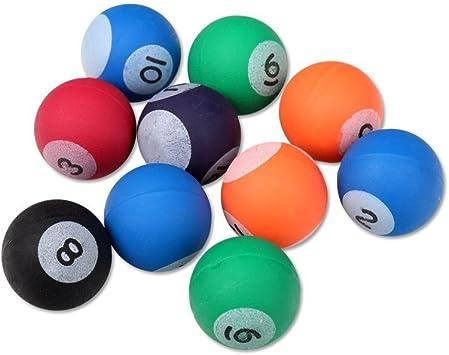 S/o 10 unidades pelotas bola diseño de billar 27 mm flummis Spring ...