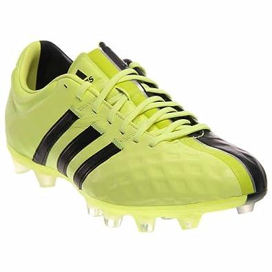 deef6428b09 adidas 11Pro FG Soccer Cleats Flash Yellow Grey sz. 6.5