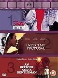 An Officer and a Gentleman / Fatal Attraction / Indecent Proposal [DVD]