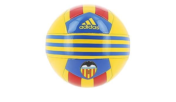 adidas Valencia - Balón, Color Amarillo/Azul/Rojo, Talla 5: Amazon ...