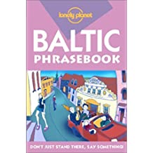 Lonely Planet Baltic States Phrasebook *2nd Edition 2nd Ed.