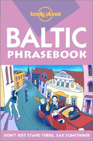 Lonely Planet Baltic States Phrasebook...