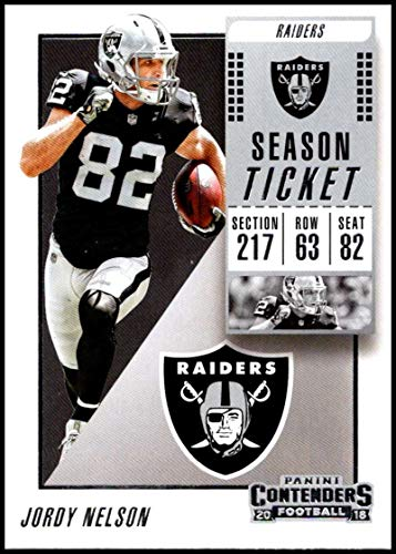 2018 Panini Contenders Season Tickets #26 Jordy Nelson for sale  Delivered anywhere in USA