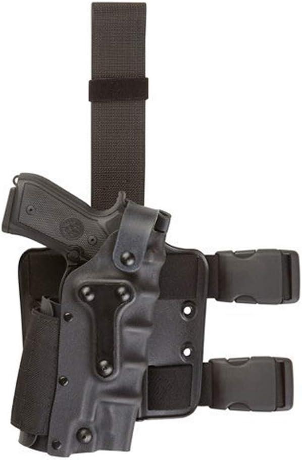 TBDLG Funda de cinturón Oculta para la Caza Bolsillos tácticos para Armas Cinturón, Funda de Pierna Cinturón multifunción,Black